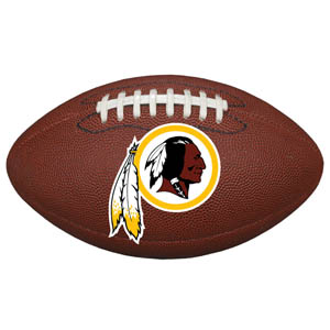 "Washington Redskins Football Small Magnet - Officially licensed NFL Washington Redskins football shaped magnet 6.5"" wide and 3.75"" tall. Officially licensed NFL product Licensee: Siskiyou Buckle Thank you for visiting CrazedOutSports.com"