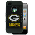 Green Bay Packers Rocker Case fits iPhone 4/4S - Our officially licensed NFL Rocker case is a 2 piece case with inner silicone skin and outer hard case with silk screened team graphics. Protects your iPhone 4/4S from bumps, scratches and other mishaps while allowing for complete access to the devices functionality. Officially licensed NFL product Licensee: Siskiyou Buckle Thank you for visiting CrazedOutSports.com