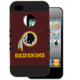 Washington Redskins Rocker Case fits iPhone 4/4S - Our officially licensed NFL Rocker case is a 2 piece case with inner silicone skin and outer hard case with silk screened team graphics. Protects your iPhone 4/4S from bumps, scratches and other mishaps while allowing for complete access to the devices functionality. Officially licensed NFL product Licensee: Siskiyou Buckle Thank you for visiting CrazedOutSports.com