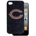Chicago Bears iPhone 4G Crystal Snap on Case - Add a little glitz to your game with our iPhone 4G Glitz faceplates. These officially licensed flashy cases are covered in colored crystals featuring your favorite team logos. The single piece faceplate slips easily onto your phone while allowing complete access to the phones functionality. A great, fashionable way to protect your phone investment and show off your team pride! Officially licensed NFL product Licensee: Siskiyou Buckle Thank you for visiting CrazedOutSports.com