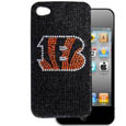 Cincinnati Bengals Crystal Snap on Case fits iPhone 4/4S