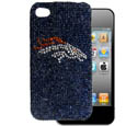 Denver Broncos Crystal Snap on Case fits iPhone 4/4S