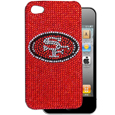 San Francisco 49ers Crystal Snap on Case fits iPhone 4/4S