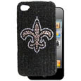 New Orleans Saints Crystal Snap on Case fits iPhone 4/4S