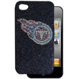 Tennessee Titans iPhone 4G Crystal Snap on Case - Add a little glitz to your game with our iPhone 4G Glitz faceplates. These officially licensed flashy cases are covered in colored crystals featuring your favorite team logos. The single piece faceplate slips easily onto your phone while allowing complete access to the phones functionality. A great, fashionable way to protect your phone investment and show off your team pride! Officially licensed NFL product Licensee: Siskiyou Buckle .com