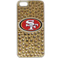 San Francisco 49ers iPhone 5/5S Dazzle Snap on Case