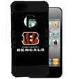 Cincinnati Bengals Rocker Case fits iPhone 5 - Our officially licensed NFL 5/5S Rocker case is a 2 piece case with inner silicone skin and outer hard case with silk screened team graphics. Protects your iPhone from bumps, scratches and other mishaps while allowing for complete access to the devices functionality. Officially licensed NFL product Licensee: Siskiyou Buckle Thank you for visiting CrazedOutSports.com