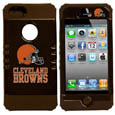 Cleveland Browns iPhone 5 Rocker Case - Our officially licensed NFL 5/5S Rocker case is a 2 piece case with inner silicone skin and outer hard case with silk screened team graphics. Protects your iPhone from bumps, scratches and other mishaps while allowing for complete access to the devices functionality. Officially licensed NFL product Licensee: Siskiyou Buckle Thank you for visiting CrazedOutSports.com