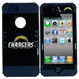 San Diego Chargers iPhone 5 Rocker Case - Our officially licensed NFL 5/5S Rocker case is a 2 piece case with inner silicone skin and outer hard case with silk screened team graphics. Protects your iPhone from bumps, scratches and other mishaps while allowing for complete access to the devices functionality. Officially licensed NFL product Licensee: Siskiyou Buckle Thank you for visiting CrazedOutSports.com