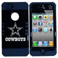 Dallas Cowboys iPhone 5 Rocker Case - Our officially licensed NFL 5/5S Rocker case is a 2 piece case with inner silicone skin and outer hard case with silk screened team graphics. Protects your iPhone from bumps, scratches and other mishaps while allowing for complete access to the devices functionality. Officially licensed NFL product Licensee: Siskiyou Buckle Thank you for visiting CrazedOutSports.com