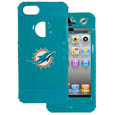Miami Dolphins Rocker Case fits iPhone 5 - Our officially licensed NFL 5/5S Rocker case is a 2 piece case with inner silicone skin and outer hard case with silk screened team graphics. Protects your iPhone from bumps, scratches and other mishaps while allowing for complete access to the devices functionality. Officially licensed NFL product Licensee: Siskiyou Buckle Thank you for visiting CrazedOutSports.com