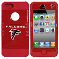 Atlanta Falcons iPhone 5 Rocker Case - Our officially licensed NFL 5/5S Rocker case is a 2 piece case with inner silicone skin and outer hard case with silk screened team graphics. Protects your iPhone from bumps, scratches and other mishaps while allowing for complete access to the devices functionality. Officially licensed NFL product Licensee: Siskiyou Buckle Thank you for visiting CrazedOutSports.com
