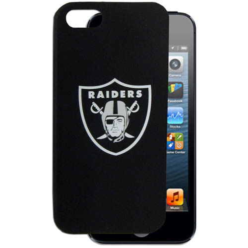 Raiders 5 Silicone Case - Our officially licensed NFL soft silicone case fits snug to the device offering protection and added to grip for your device. Officially licensed NFL product Licensee: Siskiyou Buckle Thank you for visiting CrazedOutSports.com