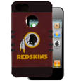 Washington Redskins Rocker Case fits iPhone 5 - Our officially licensed NFL 5/5S Rocker case is a 2 piece case with inner silicone skin and outer hard case with silk screened team graphics. Protects your iPhone from bumps, scratches and other mishaps while allowing for complete access to the devices functionality. Officially licensed NFL product Licensee: Siskiyou Buckle Thank you for visiting CrazedOutSports.com