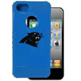 Carolina Panthers Rocker Case fits iPhone 5 - Our officially licensed NFL 5/5S Rocker case is a 2 piece case with inner silicone skin and outer hard case with silk screened team graphics. Protects your iPhone from bumps, scratches and other mishaps while allowing for complete access to the devices functionality. Officially licensed NFL product Licensee: Siskiyou Buckle Thank you for visiting CrazedOutSports.com