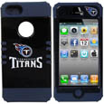 Tennessee Titans iPhone 5 Rocker Case - Our officially licensed NFL 5/5S Rocker case is a 2 piece case with inner silicone skin and outer hard case with silk screened team graphics. Protects your iPhone from bumps, scratches and other mishaps while allowing for complete access to the devices functionality. Officially licensed NFL product Licensee: Siskiyou Buckle .com