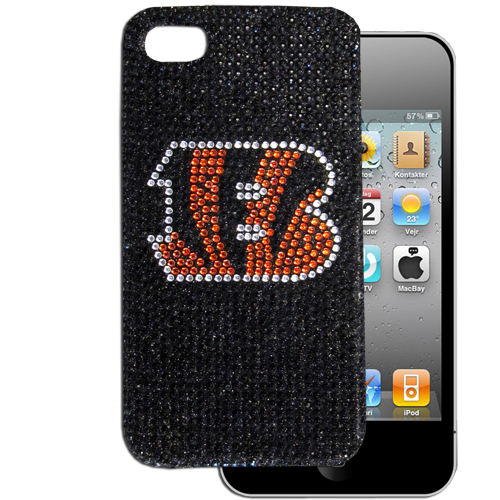 Bengals 5 Crystal Snap on Case - This one piece NFL crystal 5 snap on case features the team's primary logo in brightly colored crystals. Officially licensed NFL product Licensee: Siskiyou Buckle Thank you for visiting CrazedOutSports.com