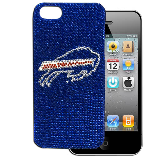 Bills 5 Crystal Snap on Case - This one piece NFL crystal 5 snap on case features the team's primary logo in brightly colored crystals. Officially licensed NFL product Licensee: Siskiyou Buckle Thank you for visiting CrazedOutSports.com
