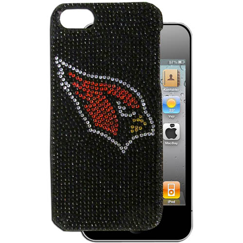 Cardinals 5 Crystal Snap on Case - This one piece NFL crystal 5 snap on case features the team's primary logo in brightly colored crystals. Officially licensed NFL product Licensee: Siskiyou Buckle Thank you for visiting CrazedOutSports.com