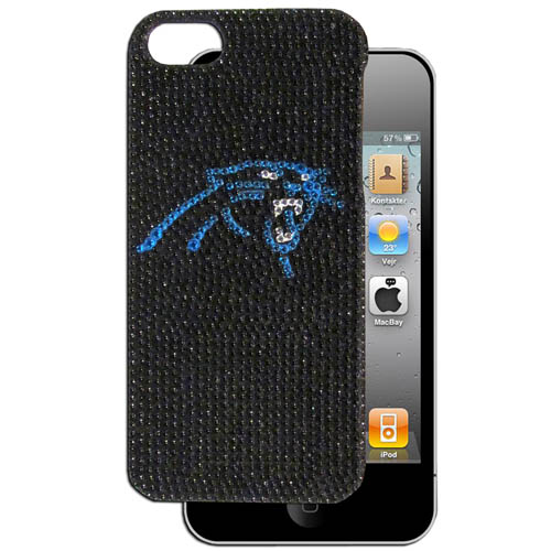 Panthers 5 Crystal Snap on Case - This one piece NFL crystal 5 snap on case features the team's primary logo in brightly colored crystals. Officially licensed NFL product Licensee: Siskiyou Buckle Thank you for visiting CrazedOutSports.com