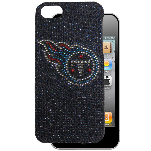 Tennessee Titans 5 Crystal Snap on Case - This one piece NFL faceplate features the team's primary logo in brightly colored crystals. Protects your device from bumps, scratches and other mishaps while allowing for complete access to the phone's functionality. Officially licensed NFL product Licensee: Siskiyou Buckle Thank you for visiting CrazedOutSports.com