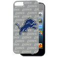 Detroit Lions Graphics Snap on Case fits iPhone 5 - This officially licensed NFL single piece snap on case features the team's primary logo and silhouetted pattern of the team name. Protects your device from bumps, scratches and other mishaps while allowing for complete access to the phone's functionality. Officially licensed NFL product Licensee: Siskiyou Buckle Thank you for visiting CrazedOutSports.com