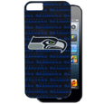 Seattle Seahawks Graphics Snap on Case fits iPhone 5 - This officially licensed NFL single piece snap on case features the team's primary logo and silhouetted pattern of the team name. Protects your device from bumps, scratches and other mishaps while allowing for complete access to the phone's functionality. Officially licensed NFL product Licensee: Siskiyou Buckle Thank you for visiting CrazedOutSports.com