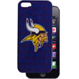 Minnesota Vikings iPhone 5 Graphics Snap on Case - This officially licensed NFL single piece snap on case features the team's primary logo and silhouetted pattern of the team name. Protects your device from bumps, scratches and other mishaps while allowing for complete access to the phone's functionality. Officially licensed NFL product Licensee: Siskiyou Buckle .com