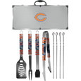 Chicago Bears 8 pc Tailgater BBQ Set
