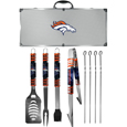 Denver Broncos 8 pc Tailgater BBQ Set