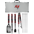 Tampa Bay Buccaneers 8 pc Tailgater BBQ Set