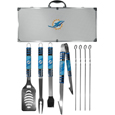 Miami Dolphins 8 pc Tailgater BBQ Set