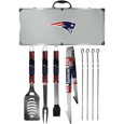New England Patriots 8 pc Tailgater BBQ Set