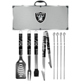 Oakland Raiders 8 pc Tailgater BBQ Set