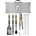 Pittsburgh Steelers 8 pc Tailgater BBQ Set