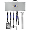Baltimore Ravens 8 pc Tailgater BBQ Set