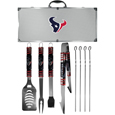 Houston Texans 8 pc Tailgater BBQ Set
