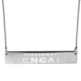 Cincinnati Bengals Bar Necklace