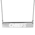 Kansas City Chiefs Bar Necklace