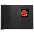 Cleveland Browns Leather Bill Clip Wallet
