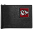 Kansas City Chiefs Leather Bill Clip Wallet
