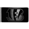 Cincinnati Bengals Black and Steel Money Clip
