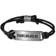 Chicago Bears Cord Bracelets - Cord bracelets have been a popular fashion accessory for many years. They offer a classic, subtle way to for a fan to get into the game. Our officially licensed cord bracelets feature a deeply carved N. Carolina Tar Heels logo on a high quality adjustable cord. Officially licensed NFL product Licensee: Siskiyou Buckle .com