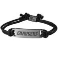 San Diego Chargers Cord Bracelets - Cord bracelets have been a popular fashion accessory for many years. They offer a classic, subtle way to for a fan to get into the game. Our officially licensed cord bracelets feature a deeply carved Pittsburgh Steelers logo on a high quality adjustable cord. Officially licensed NFL product Licensee: Siskiyou Buckle .com