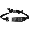Indianapolis Colts Cord Bracelets - Cord bracelets have been a popular fashion accessory for many years. They offer a classic, subtle way to for a fan to get into the game. Our officially licensed cord bracelets feature a deeply carved Chicago Bears logo on a high quality adjustable cord. Officially licensed NFL product Licensee: Siskiyou Buckle Thank you for visiting CrazedOutSports.com