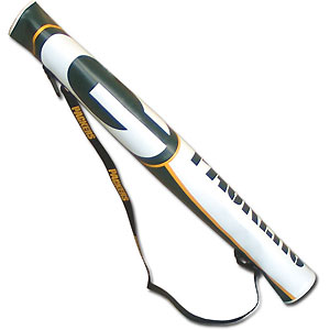NFL Can Shaft - Green Bay Packers - This NFL can shafts keeps up to 6 cans cold and is as fashionable as it is durable. The heavy duty foam insulated vinyl shaft features a shoulder strap and a zipper that extends the entire length with your favorite team logo.  Officially licensed NFL product Licensee: Siskiyou Buckle Thank you for visiting CrazedOutSports.com