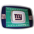 "New York Giants Melamine Chip and Dip Tray - Add an extra kick to your game day dip with Siskiyou's New York Giants Melamine Chip and Dip Tray! This tray will add that extra touch of team spirit for your watch party or tailgate. 17""x12"" Allows plenty of room for chips, veggies and dip to go around the convenient dip bowl located in the center of the tray.  Tray is Dishwasher safe. Officially licensed NFL product Licensee: Siskiyou Buckle .com"