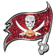 Tampa Bay Buccaneers Crystal Pin