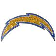 Los Angeles Chargers Crystal Pin
