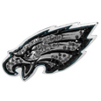 Philadelphia Eagles Crystal Pin